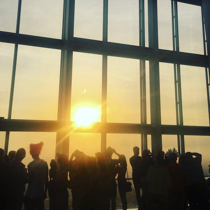 Shard View Sunrise
