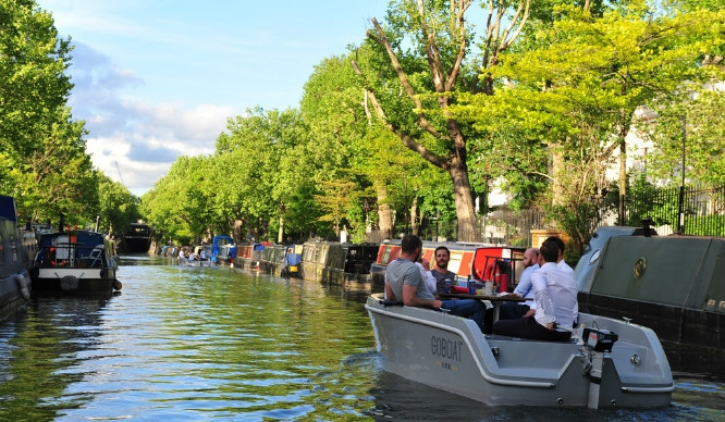 Chug Along Regent's Canal On Your Very Own Picnic Boat