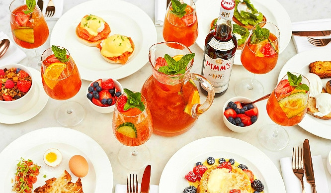 Pimm's And Poached Eggs! London's Favourite Summer Tipple Is Taking Over The Brunch Scene