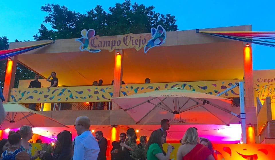 Waterloo's Pop-Up Wine Garden Is Perf For This Sunny Weekend