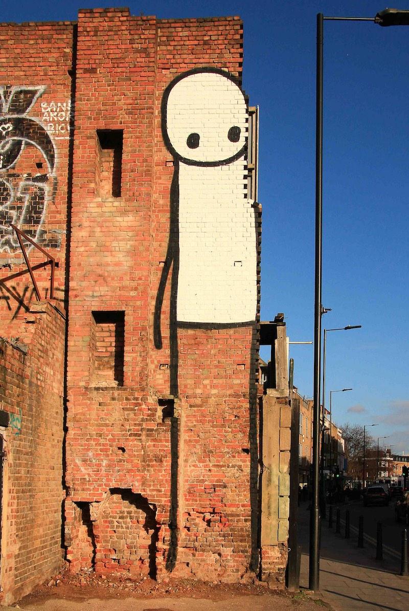 Stik Street Art Hackney London
