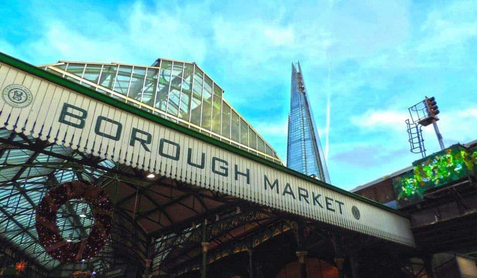 Borough Market To Re-Open On Wednesday