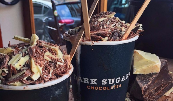 Things to do in London: drink a hot chocolate