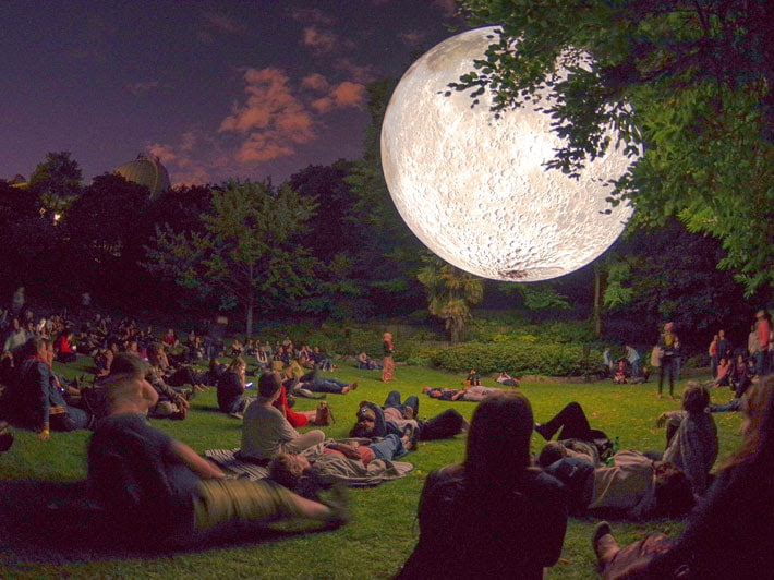 You Can Chill Beneath A Big, Beautiful Moon In London This August
