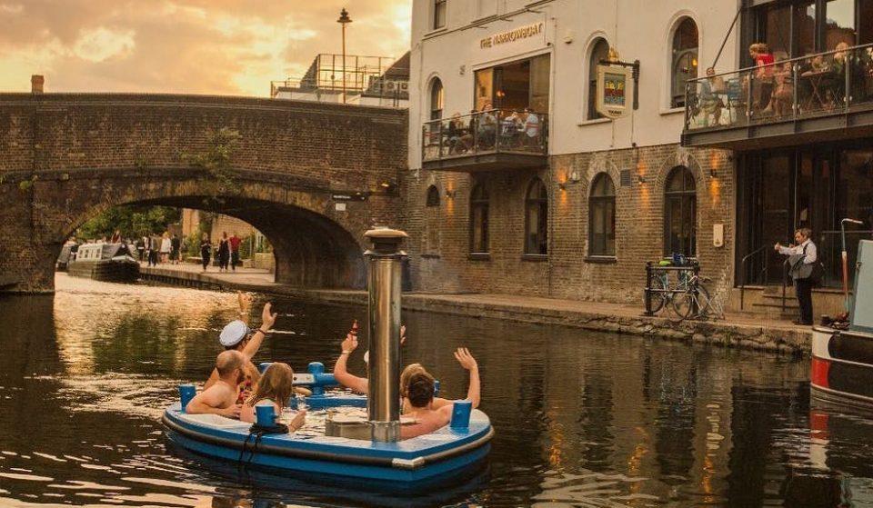 So, London's New Hot Tub Boats Are Pretty Fab