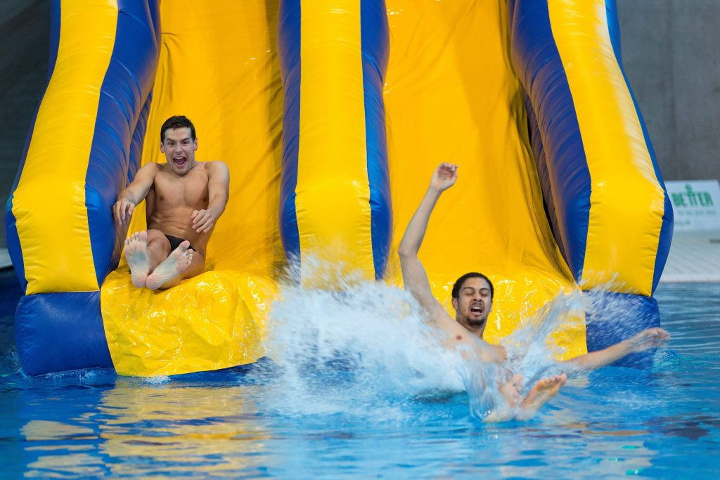 The UK's Largest Indoor Inflatable Aquatic Experience Is Coming To London