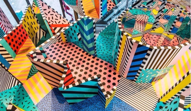 Get Lost In London's New Artsy Pop-Up Maze