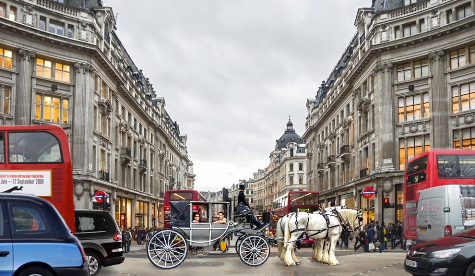 You Can Travel To Work In An Austen-tatious Horse And Cart Tomorrow