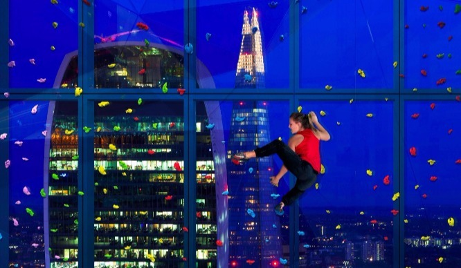 A New Skyscraper With London's First 'Climbing Window' Is Set To Open This Year