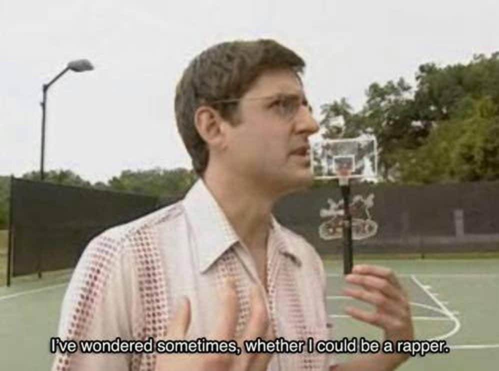 I've Wondered If I Could Be A Rapper
