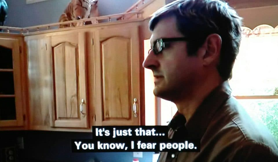 49 Steps To A Hot Date, According To Random Louis Theroux Screenshots