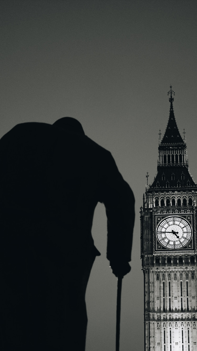 Winston Churchill Statue Parliament Big Ben