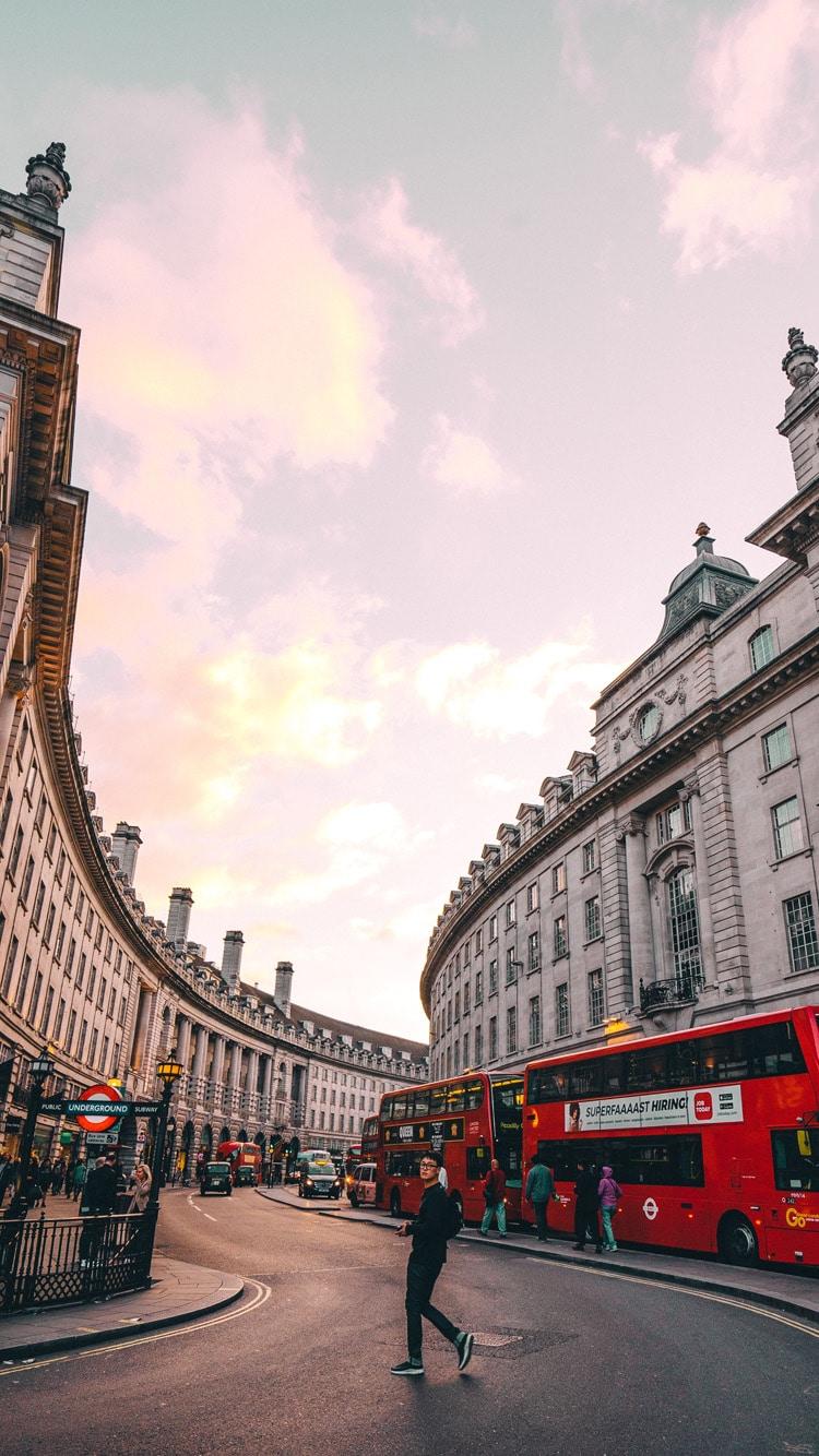 Download HD phone wallpaper Regent Street