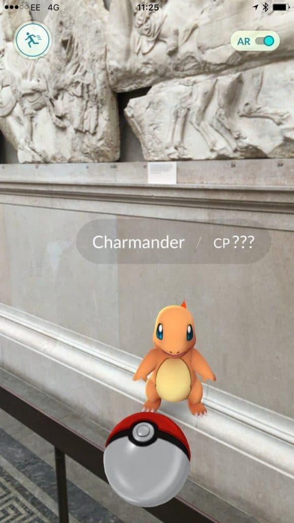 Pokemon Go British Museum