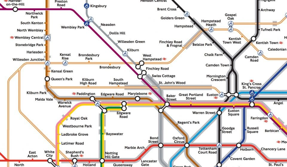 There's A New Tube Map For Claustrophobes