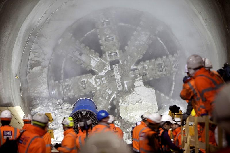 Crossrail Breakthrough