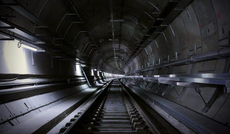 So-Called 'Crossrail Project' Still Resembling A Sci-Fi Horror Film