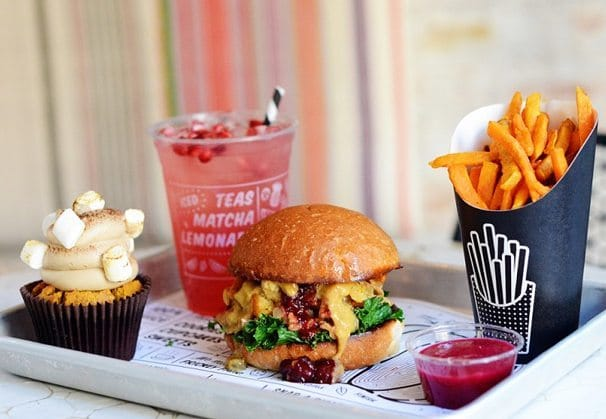 This Hip New Covent Garden Café Serves Vegan Junk Food • by CHLOE.