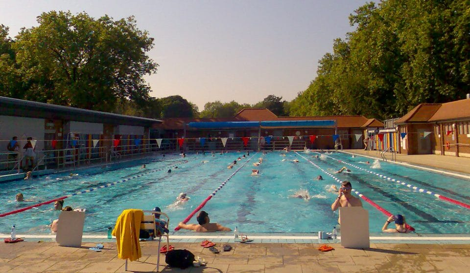 East London's Heated, Olympic Size Outdoor Pool Reopens Soon • London Fields Lido