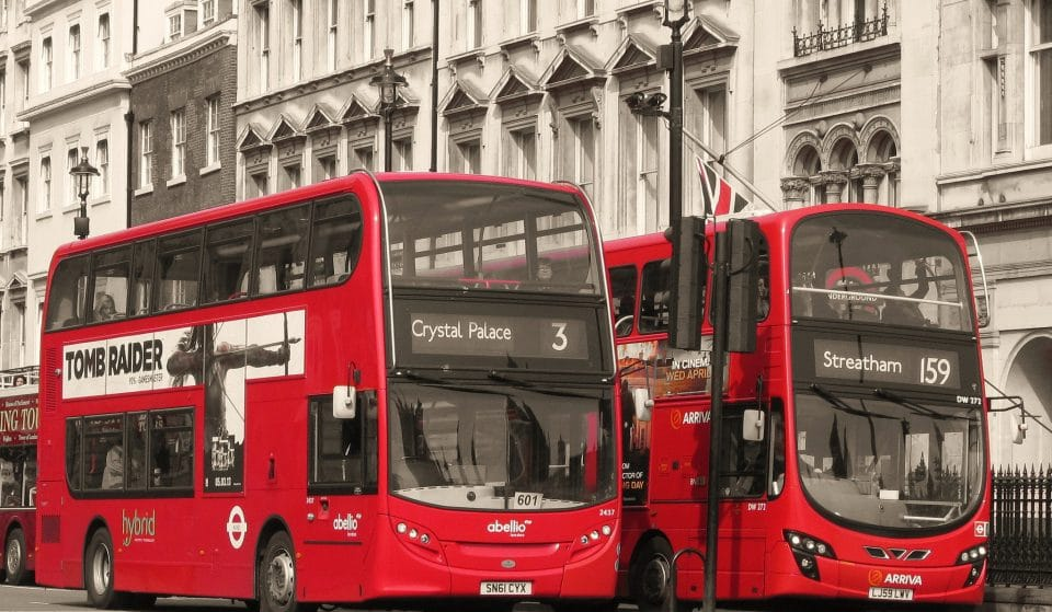 London's Iconic Double Decker Buses Are Making Their Way To Mexico