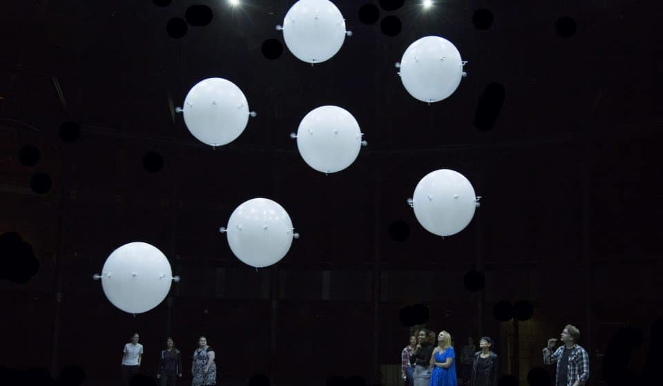 This Interactive Art Installation From The Creators Of 'Rain Room' Has Some Serious Balls