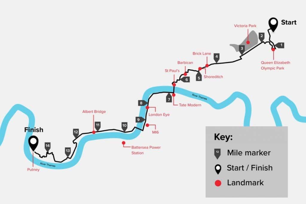 Urban Rush London Map