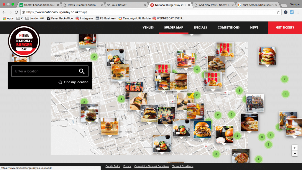 This Map Will Show You Where To Get Cheap Burgers Next Week
