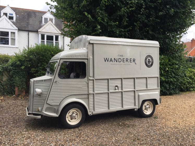 A Mobile G&T Van Is Now Roaming Around London