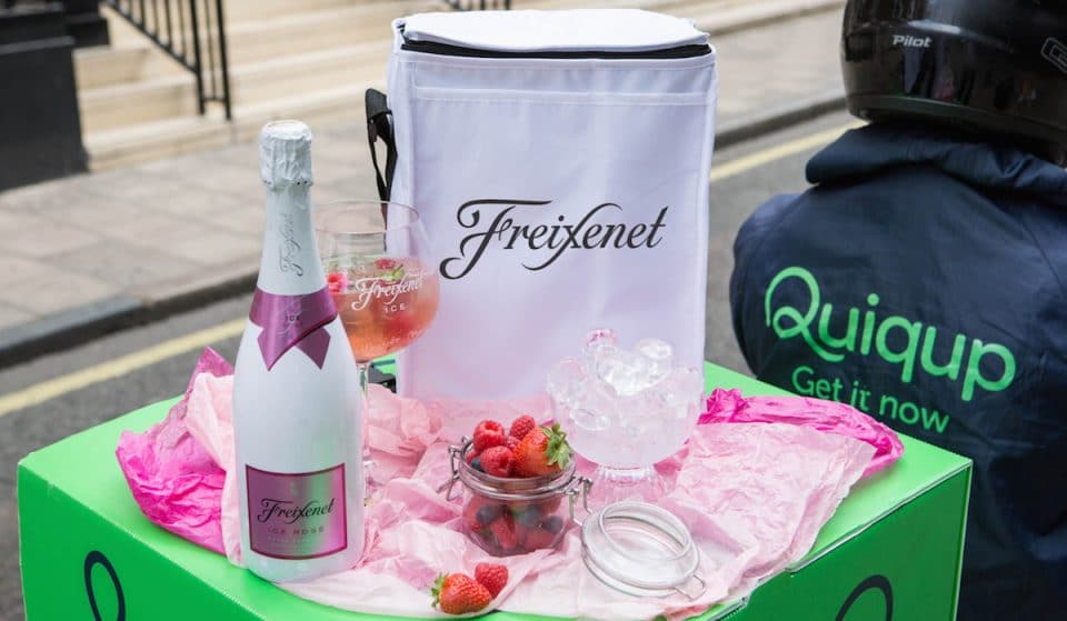 How To Get Free Fizzy Rosé Delivered To You This Wednesday
