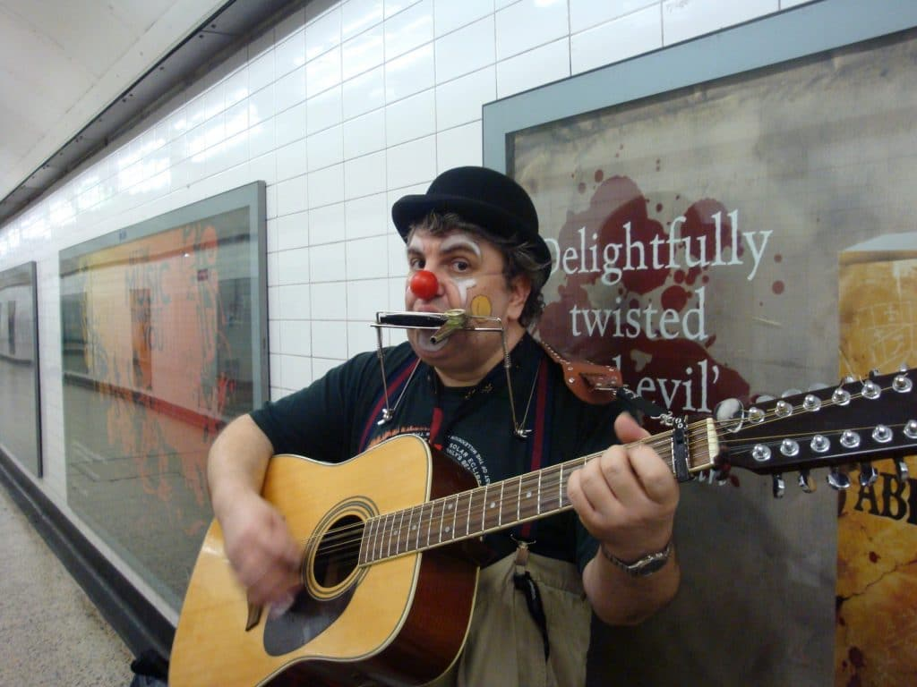 You Can Now Apply To Busk In London's Underground Stations