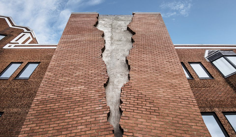A Building In Hammersmith Has Been Ripped In Half In The Name Of Art