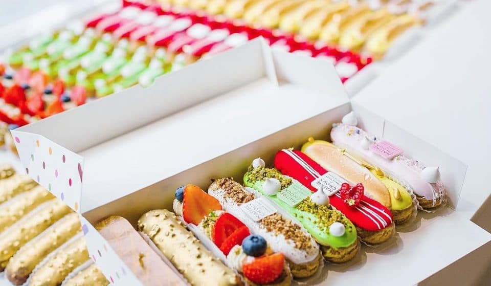 This Pastry Shop Has A Flair For Seriously Fancy Eclairs • Maitre Choux