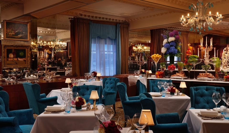 Dine Like Royalty At This Lovely Restaurant Opposite Buckingham Palace • The English Grill