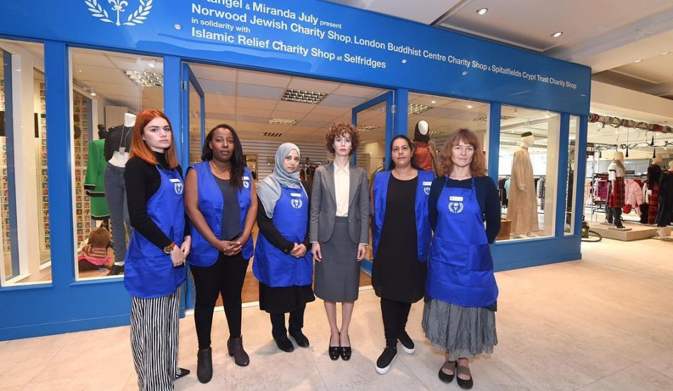 The UK's First Interfaith Charity Shop Has Just Opened Up In Selfridges