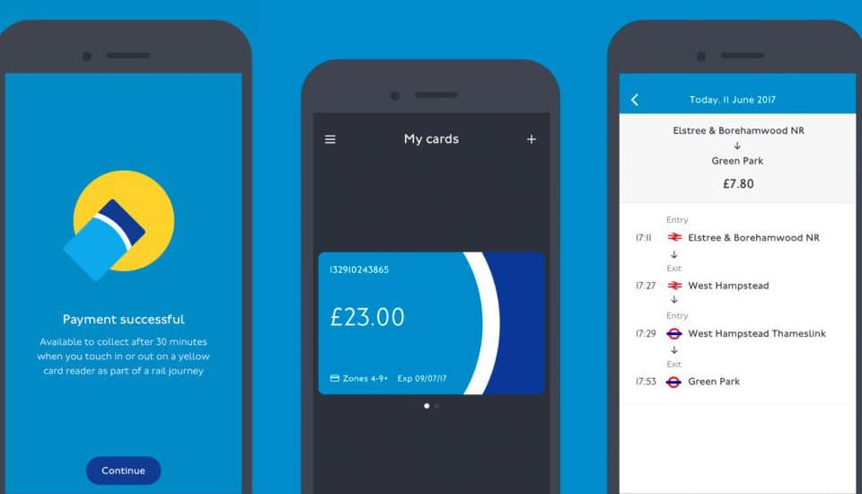 TfL Have Launched A New App To Keep Tabs On Your Oyster