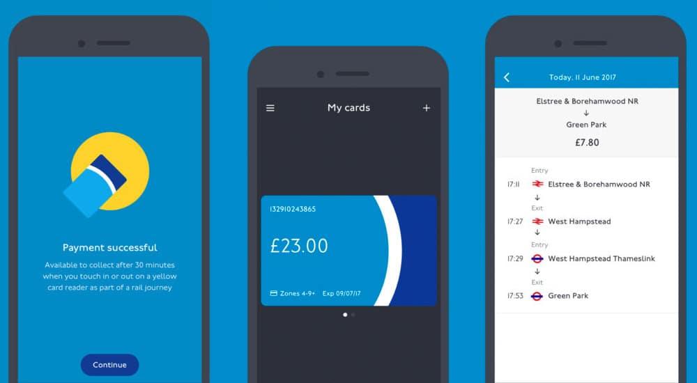 Oyster card app