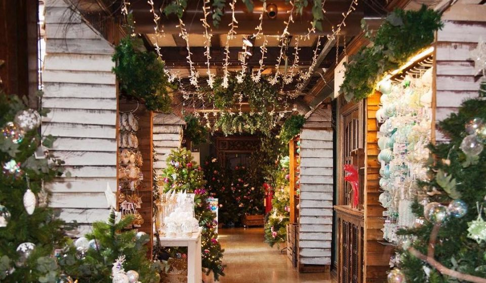 Liberty's Iconic Christmas Shop Is Now Open For Festive Wanders
