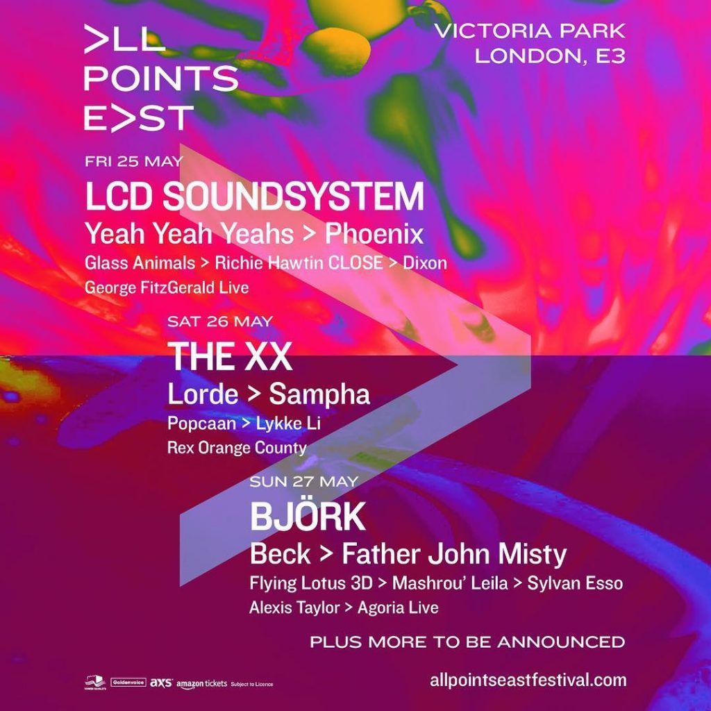 All Points East Festival lineup