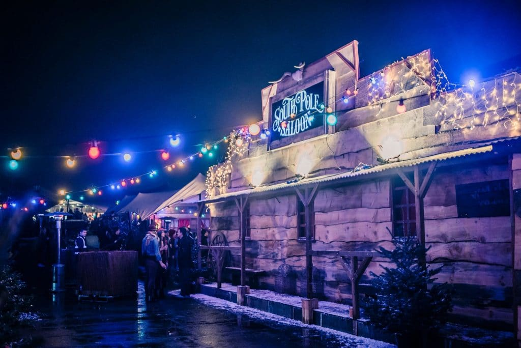 This Brixton Rooftop Has Transformed Into A Debauched Christmas Saloon
