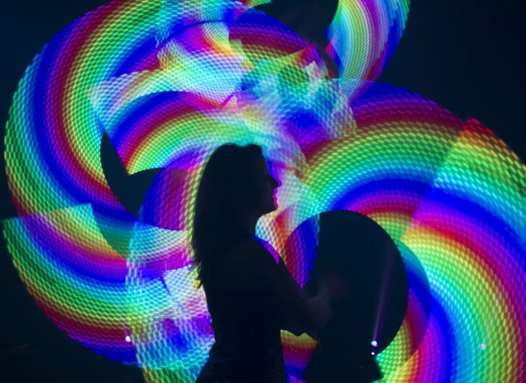 A Stunning, Technicolor Light Show Is Coming To East London