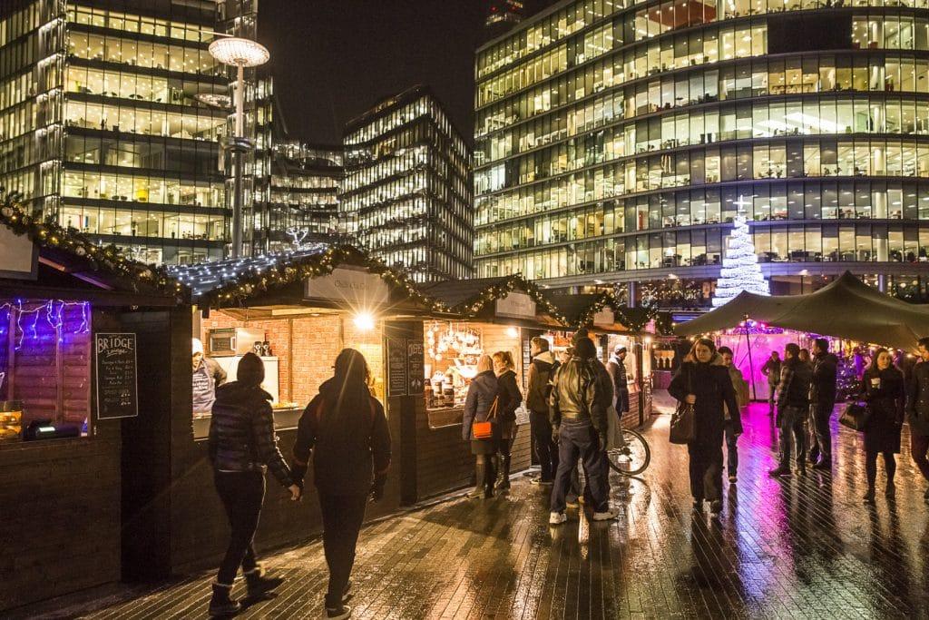 London's Lovely Riverside Christmas Market Is Returning For Winter 2019