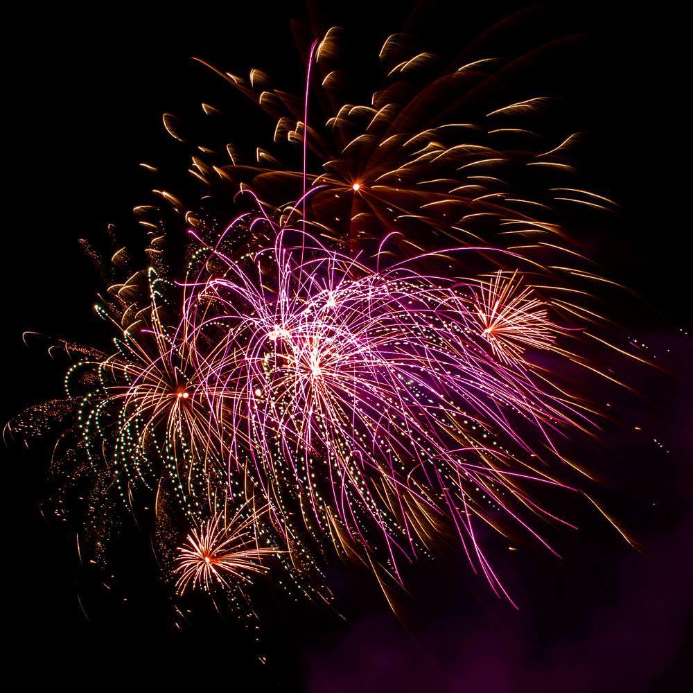 London fireworks - Southwark