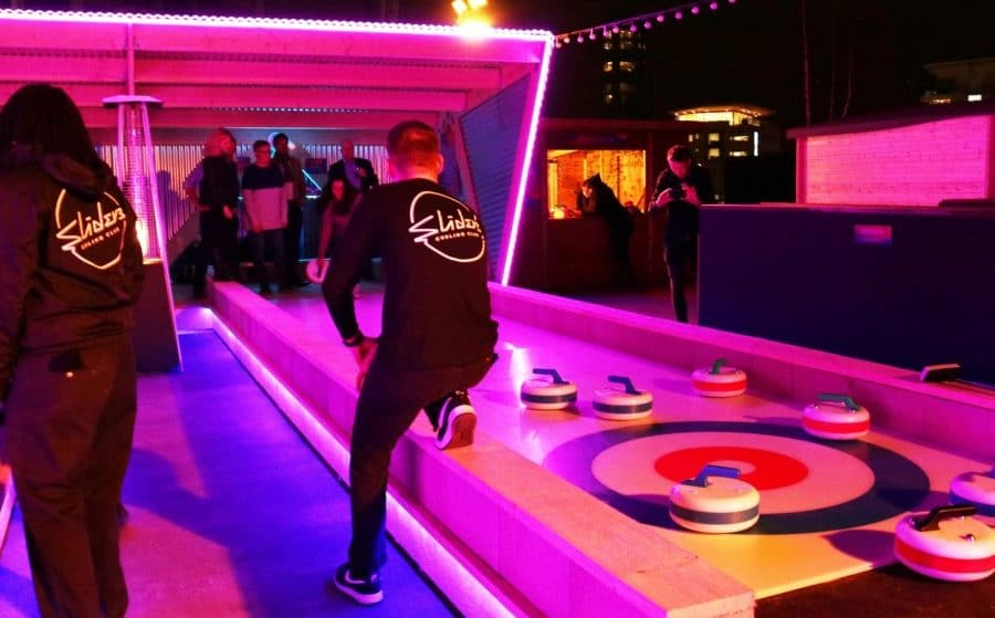 East London's Rooftop Curling Rink Is Back To Sweep You Off Your Feet