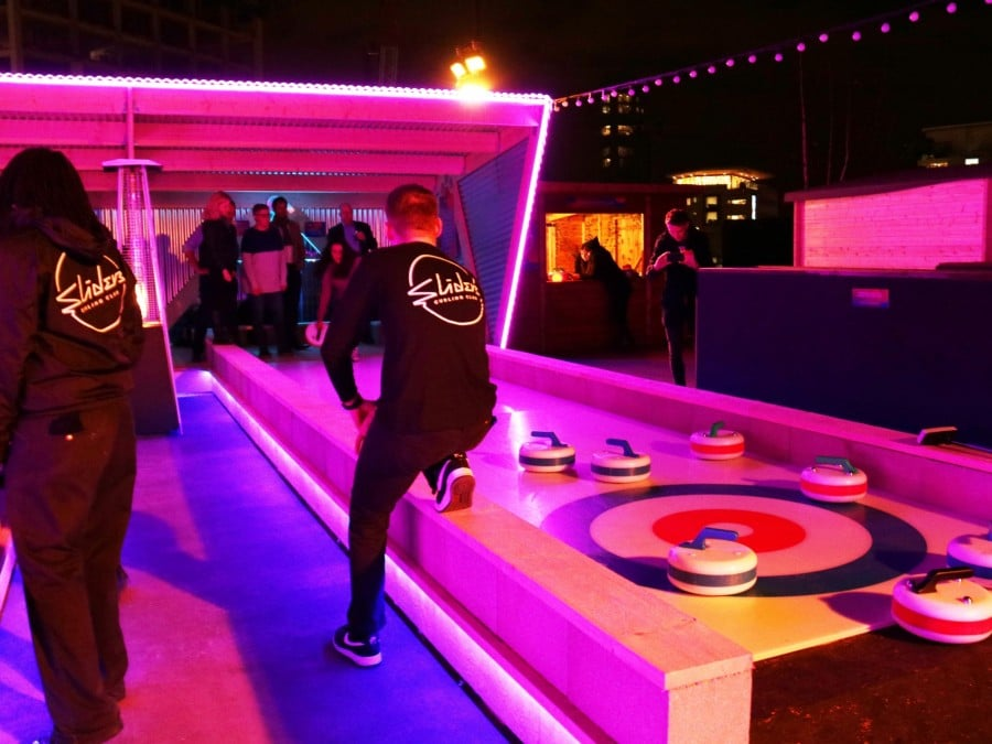 things to do in london weekend: Curling