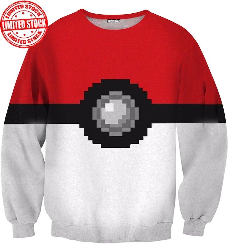 Pokeball Sweatshirt
