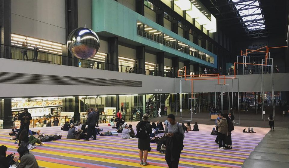 Go Swinging At The Tate Modern With This New Interactive Art Installation