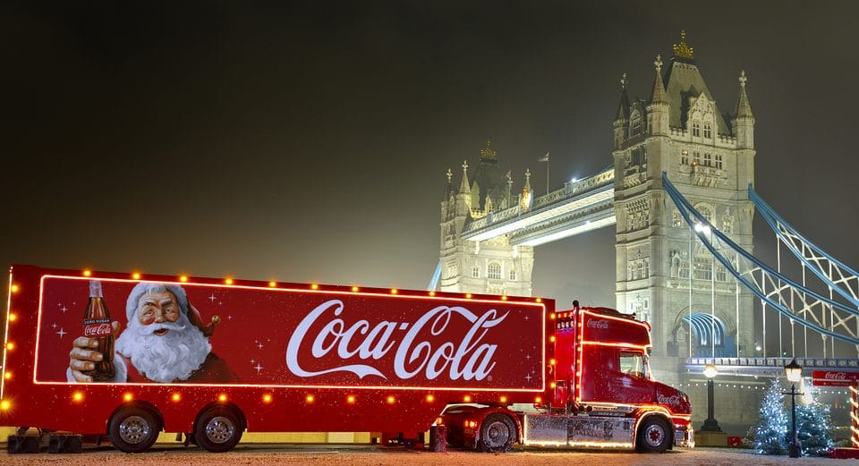 The Coca-Cola Christmas Truck Is Coming To London