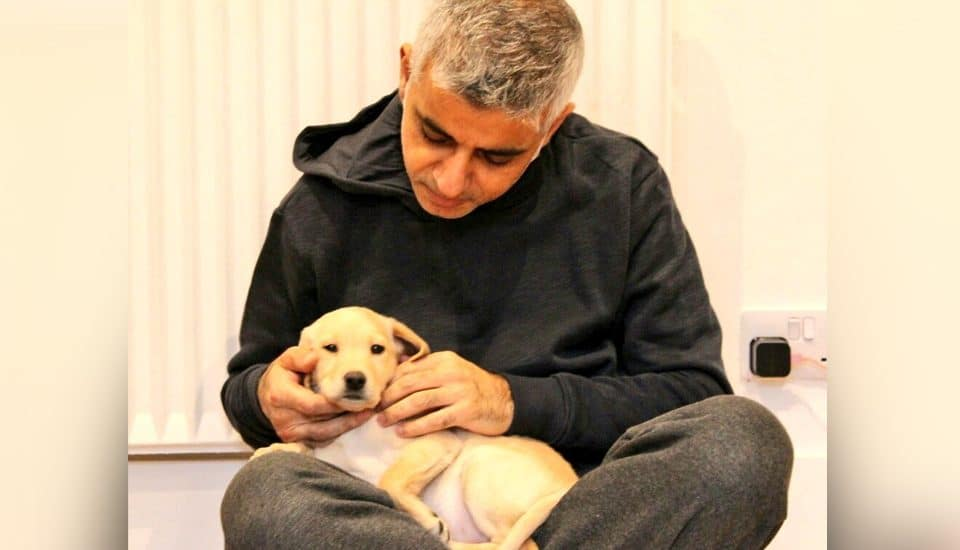 Sadiq Khan Has A New Puppy And It Is Very Pure