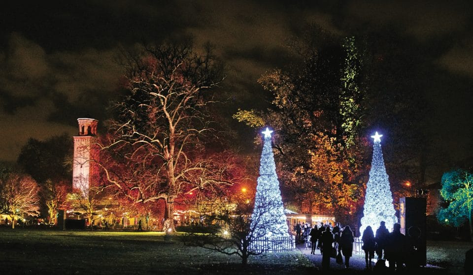 Tickets For Kew Gardens' Christmas Lights Trail Are On Sale Now (Yes, Seriously)