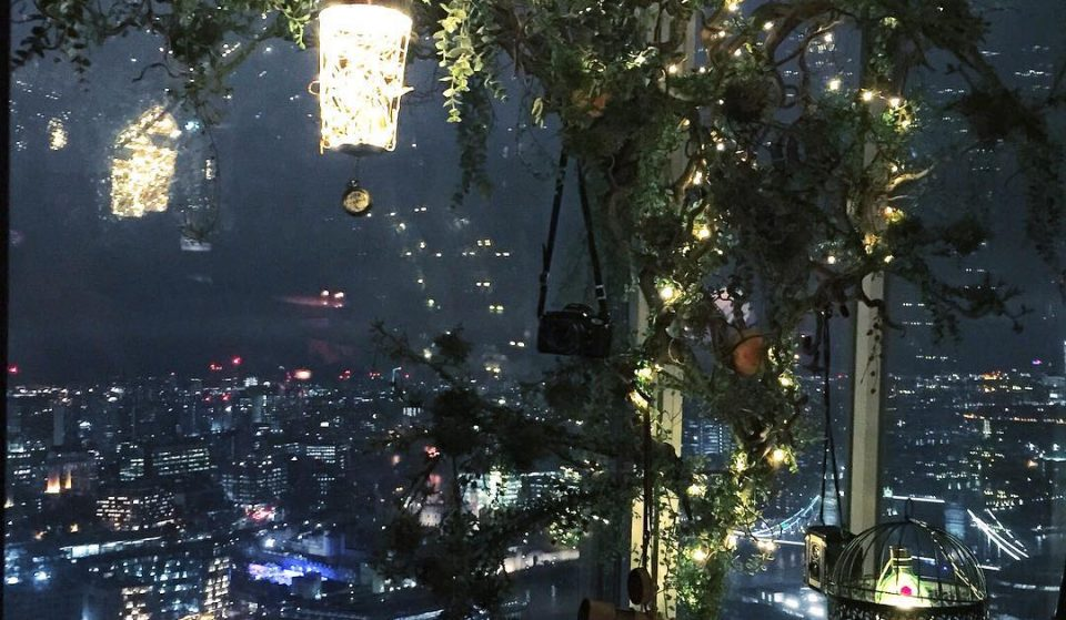 This Gin-Filled Festive Treehouse In The Shard Looks Unreal